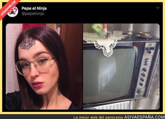 118664 - Vuelve la moda de nuestras abuelas en forma de tatuaje