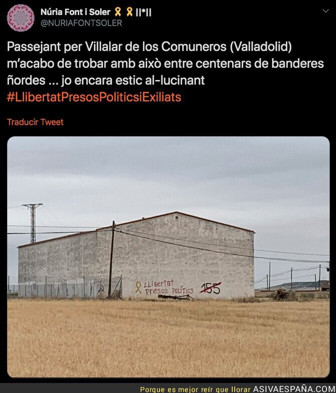 118723 - Ya he visto todo en esta vida: independentistas catalanes en Valladolid