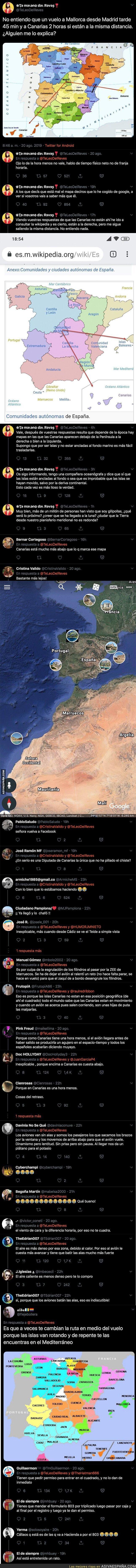 119179 - Esta chica no entiende la enorme diferencia que hay para viajar de Madrid a Mallorca y Canarias si están 'a la misma distancia'