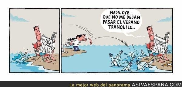 119234 - Pedro Sánchez solamente quiere descansar un poco