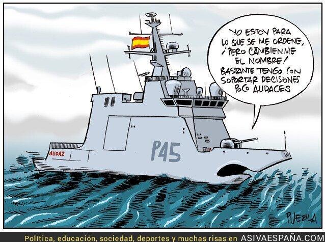119776 - Al Gobierno le salva la disciplina y lealtad del Ejército español