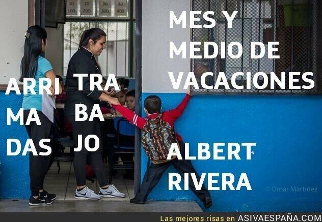 119877 - ¿Dónde está Albert Rivera?