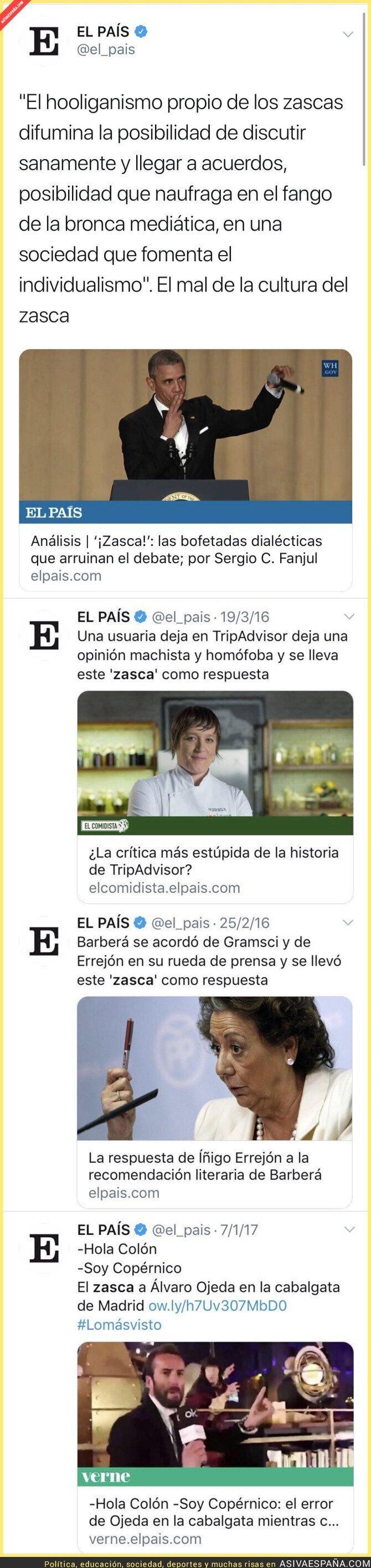 119914 - En El País no son los más indicados para dar lecciones con según que temas