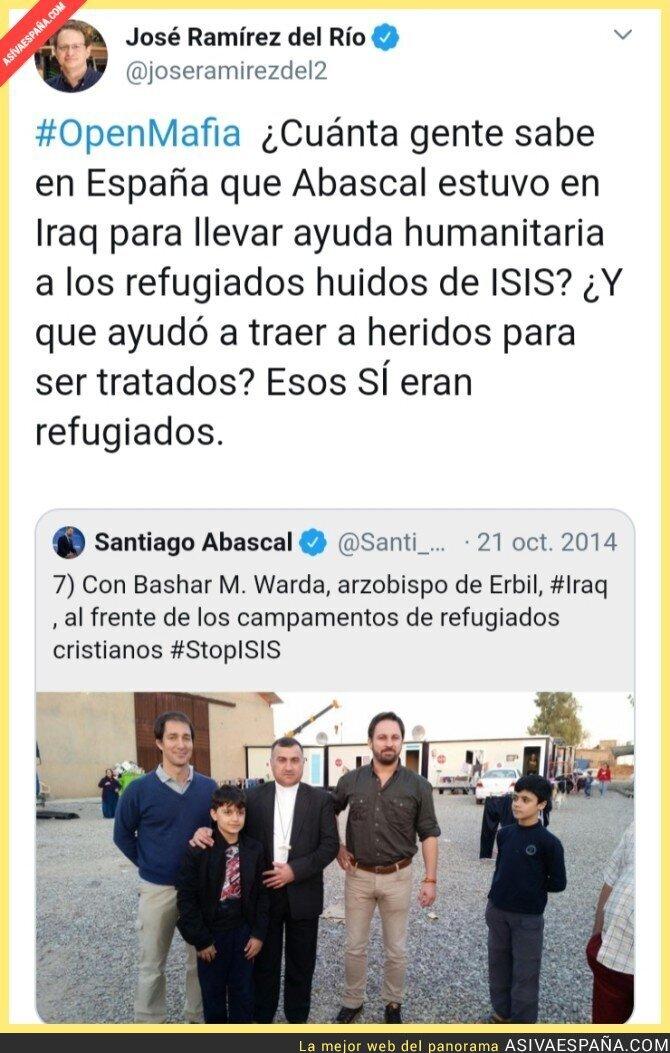 119957 - Santiago Abascal estuvo en Iraq para llevar ayuda humanitaria