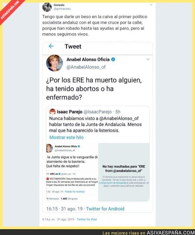 120114 - Gracias, sindicalistas corruptos, por saquear Andalucía sin derramamiento de sangre