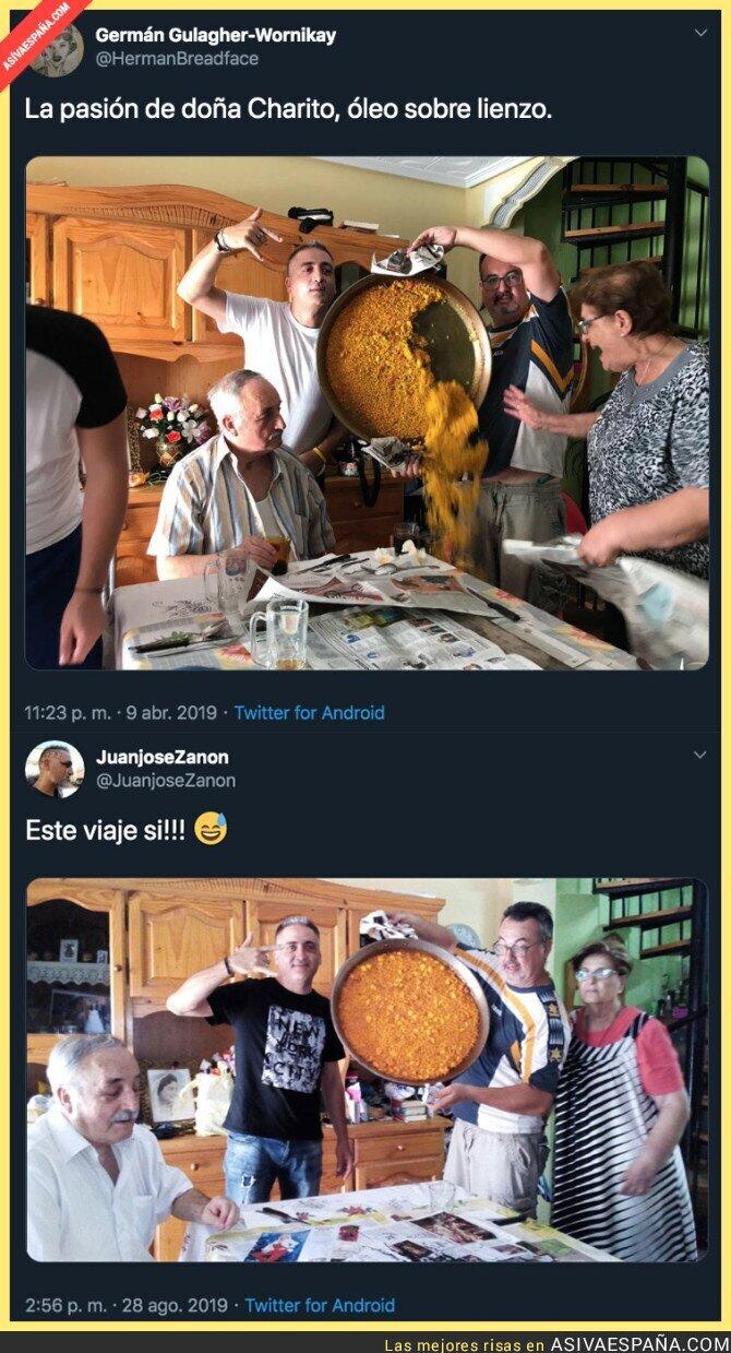 120177 - Los artistas de la paella más famosa del Mundo lo han vuelto a hacer y ahora ha salido todo bien