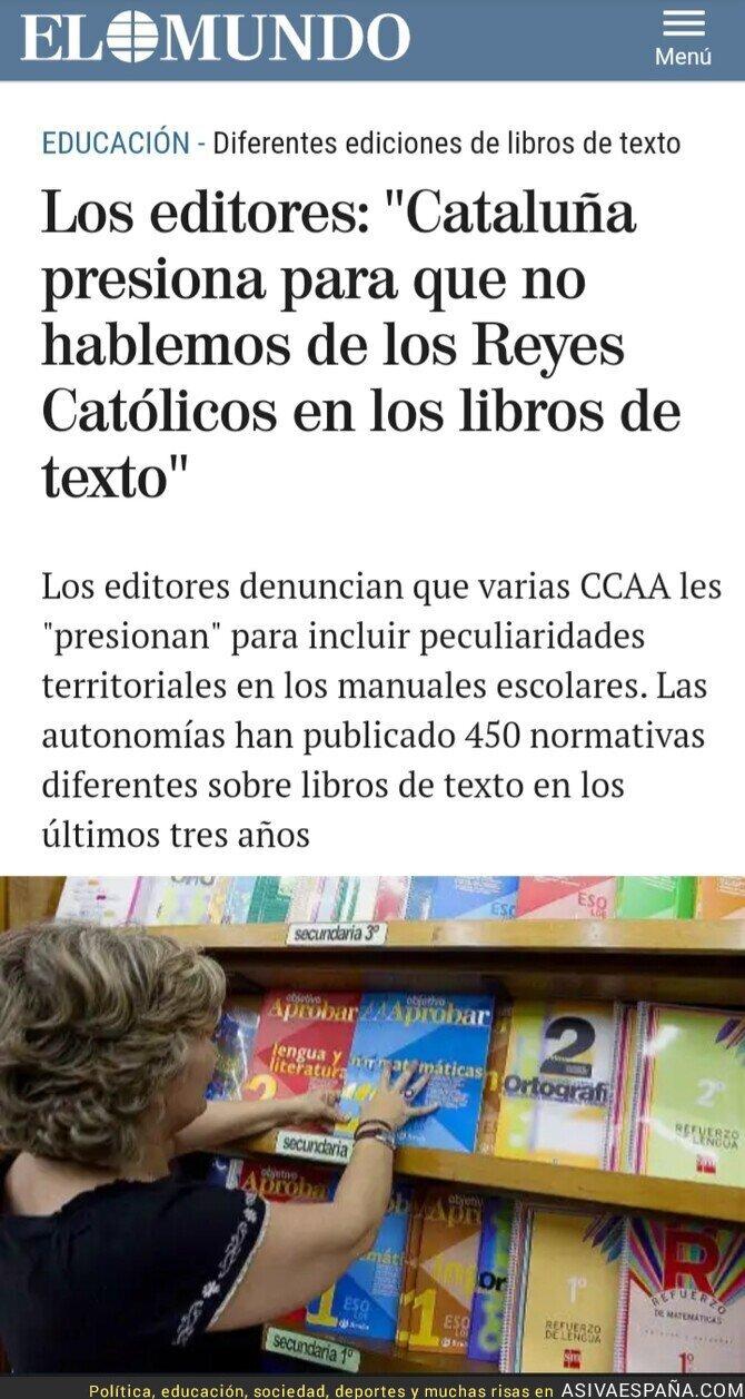 120463 - Por la centralización de las competencias educativas en España