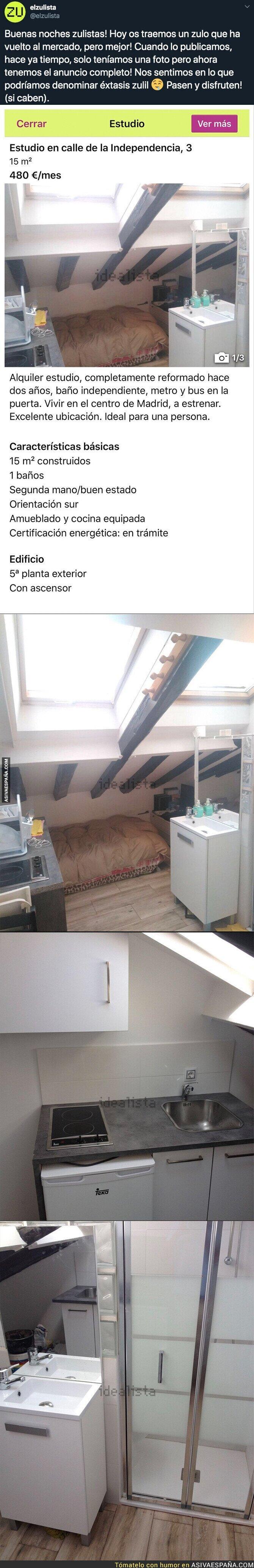120561 - El denunciable piso céntrico de Madrid de 15m2 con un precio que te explotará la cabeza