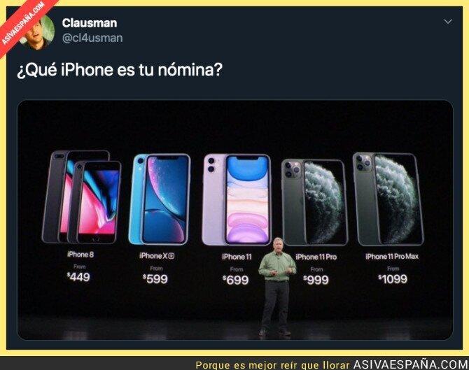 120924 - El precio del iPhone como nuevo medidor
