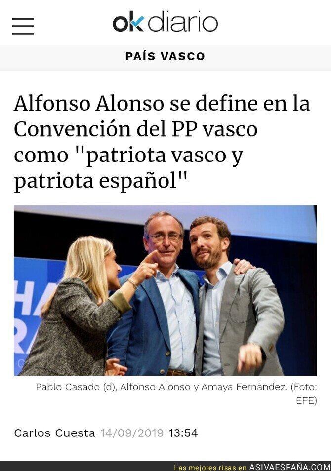 121177 - Para Alfonso Alonso, España es una patria de patrias