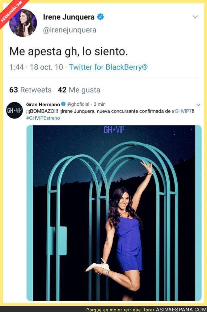 121217 - Irene Junquera del odio a entrar a la casa de GH