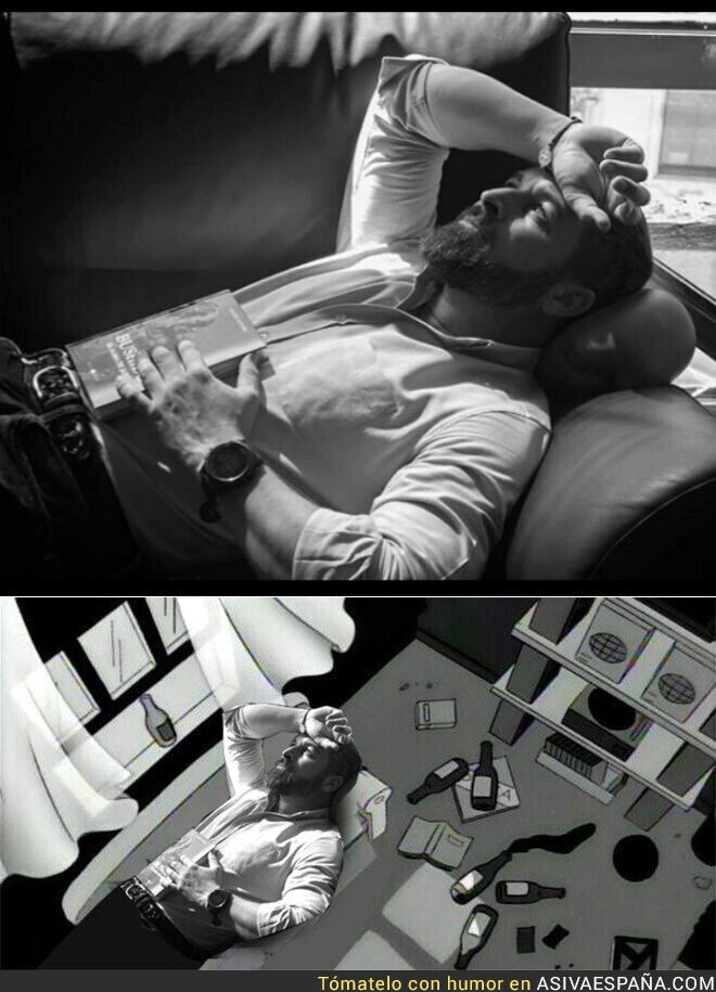 121271 - La foto postureo de Santiago Abascal que terminó en meme