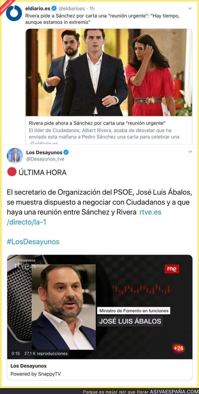 121294 - Se viene el gol del PSOE y Ciudadanos a sus votantes