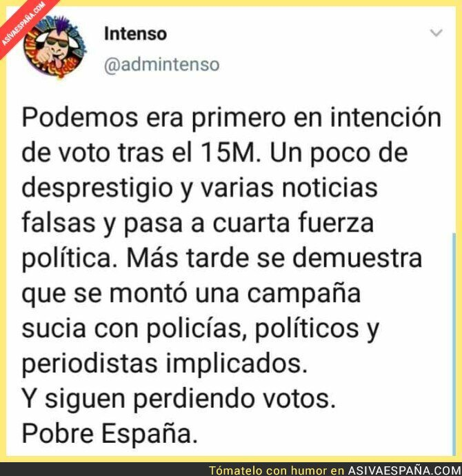 121341 - La España de las cloacas