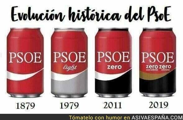 121374 - La evolución del PSOE