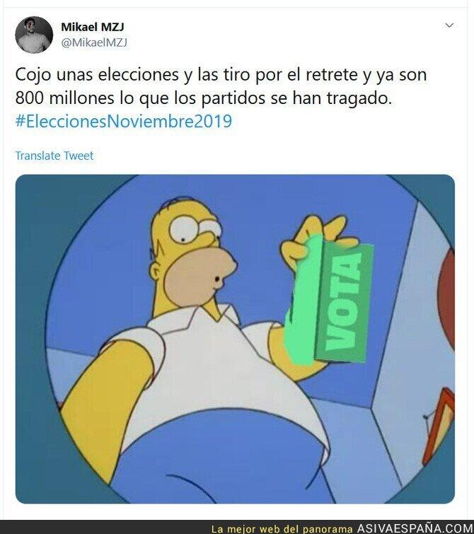 121406 - Otras elecciones a la basura