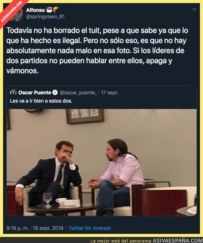 121460 - La poca vergüenza de Oscar Puente no tiene límites