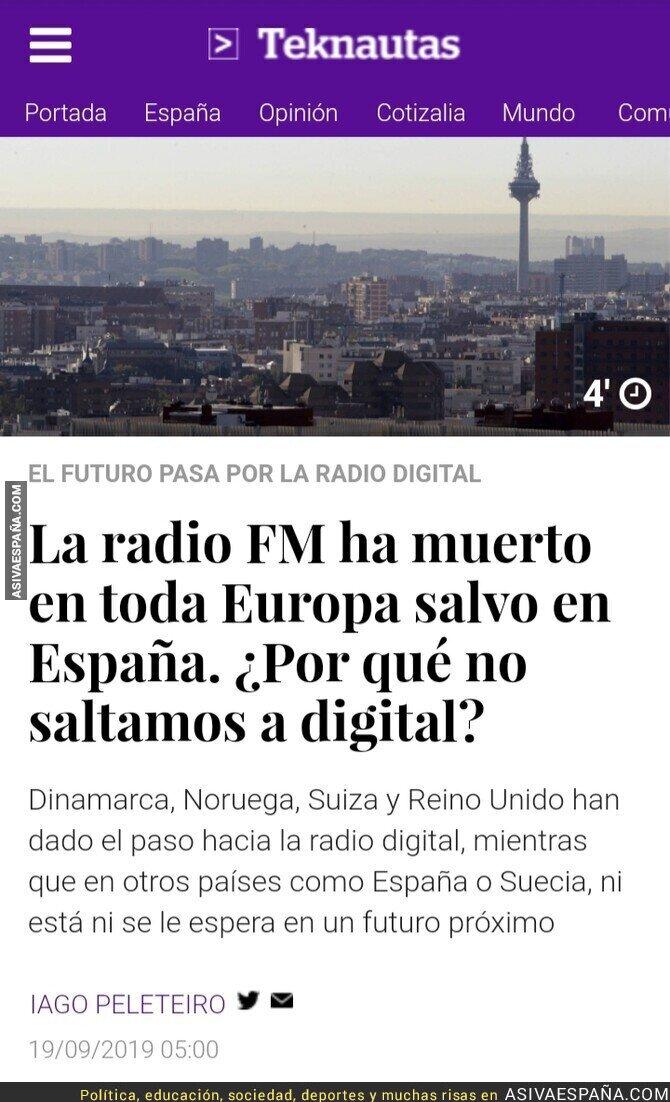 121495 - La radio digital ha muerto en Europa, menos en España