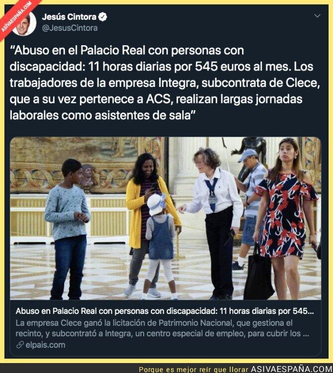 122142 - Otra más de Florentino Pérez y su empresa con la Casa Real