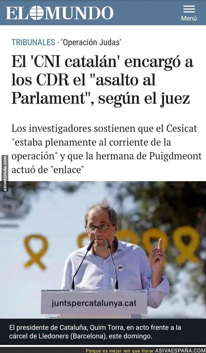 122353 - Los espías catalanes orquestaron la toma del Parlament