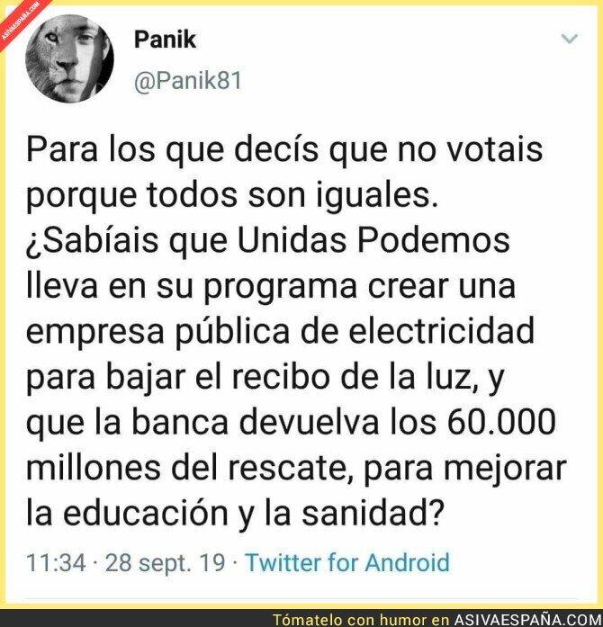 122358 - Y por eso los poderosos no quieren oír hablar de Podemos