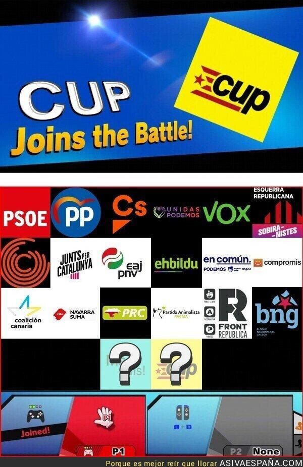122398 - La CUP da el salto a España