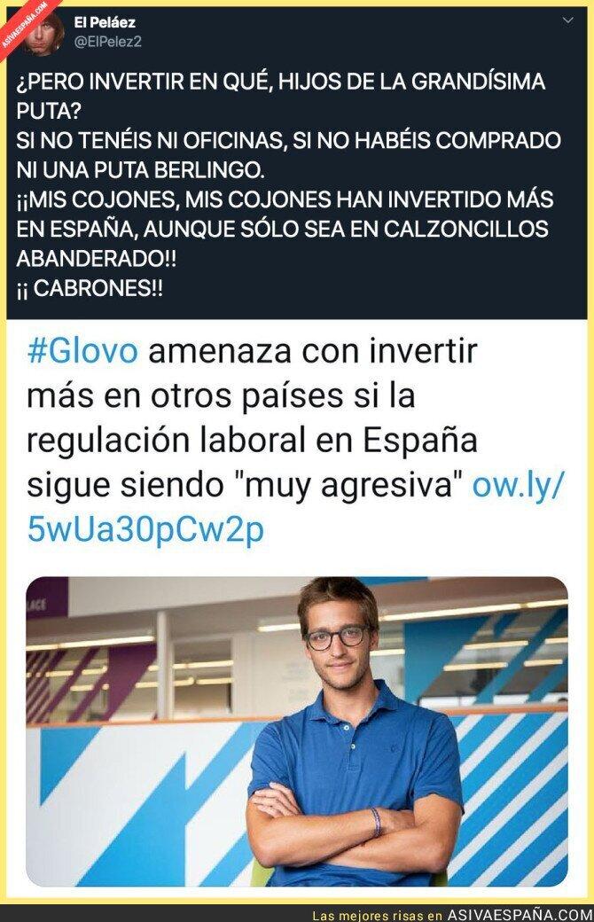 122456 - Glovo y sus inversiones en España