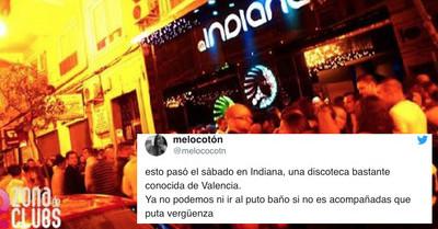 122497 - Escándalo en la discoteca Indiana de Valencia: explican la violación grupal a una chica en el lavabo del local