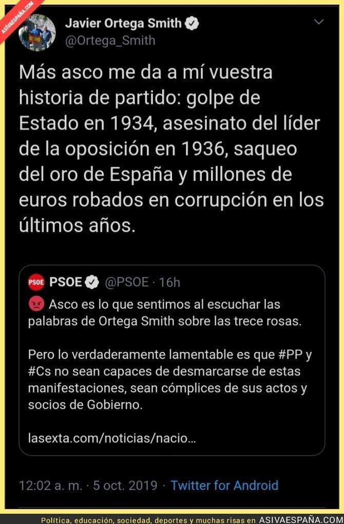 122822 - El CM de PSOE se quería hacer el digno y se lleva un zasca de Ortega Smith