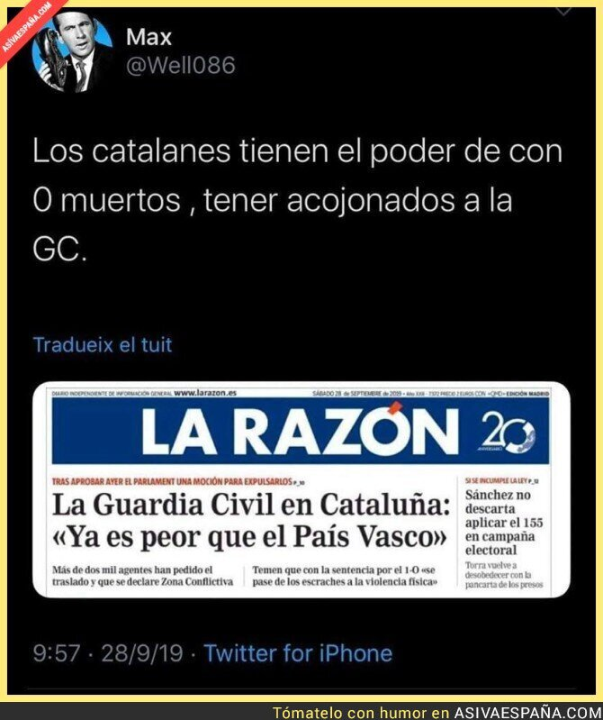 122920 - Es insostenible lo de Catalunya