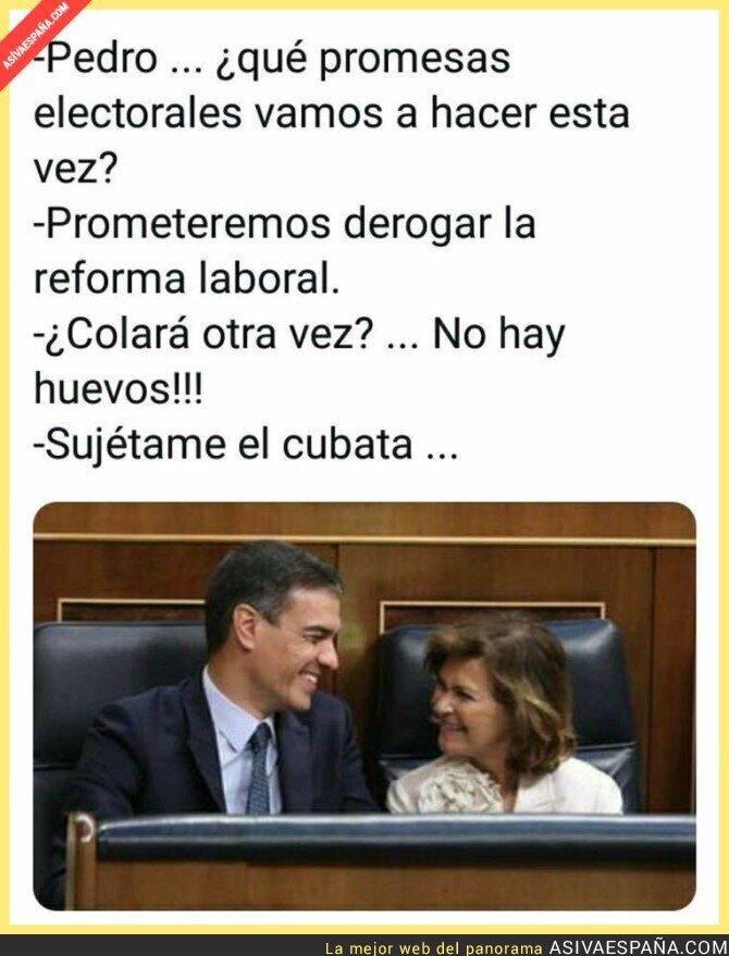 123137 - A los votantes del PSOE se las cuelan todas