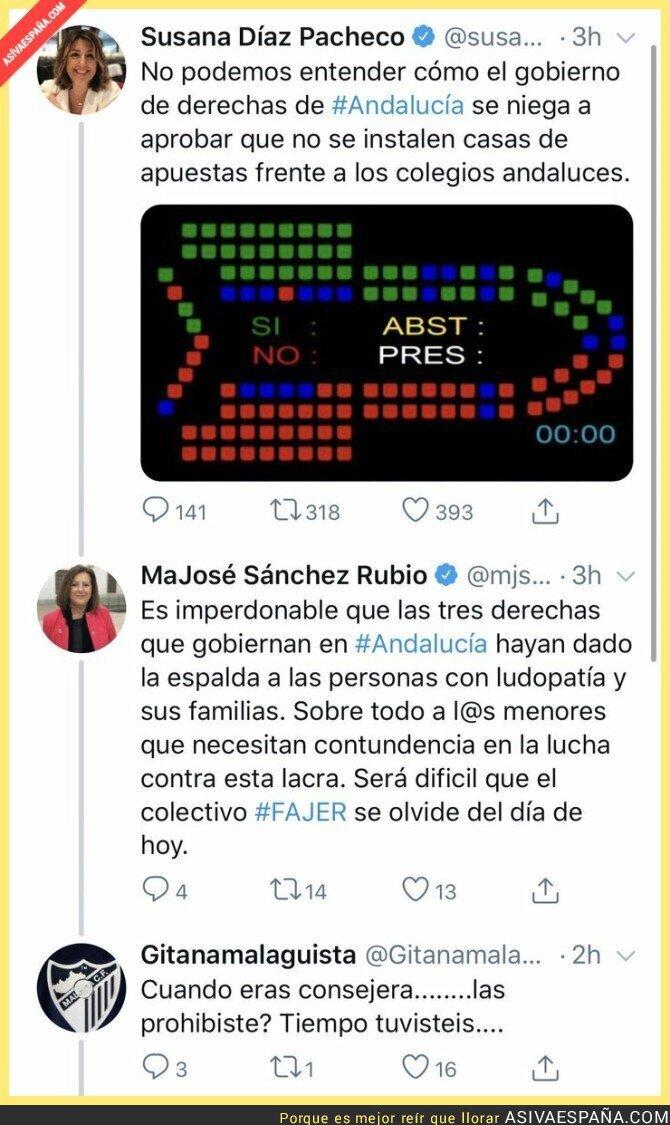 123251 - El oportunismo impresentable del PSOE ahora que gobierna la derecha en Andalucía
