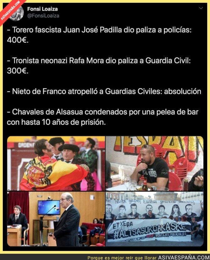 123261 - La justicia en España te castigará depende de tu ideología