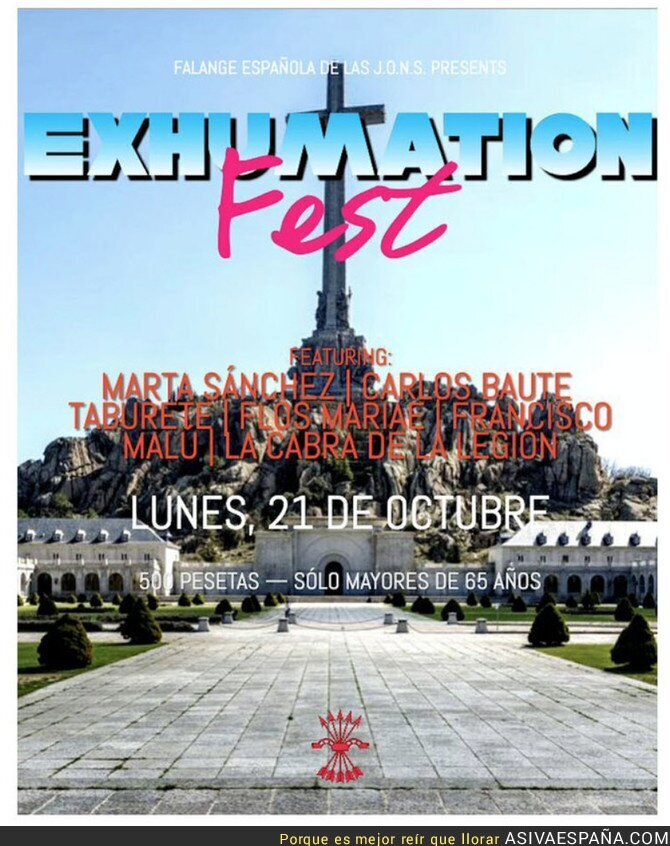 124005 - El festival que se está preparando para despedir a Franco