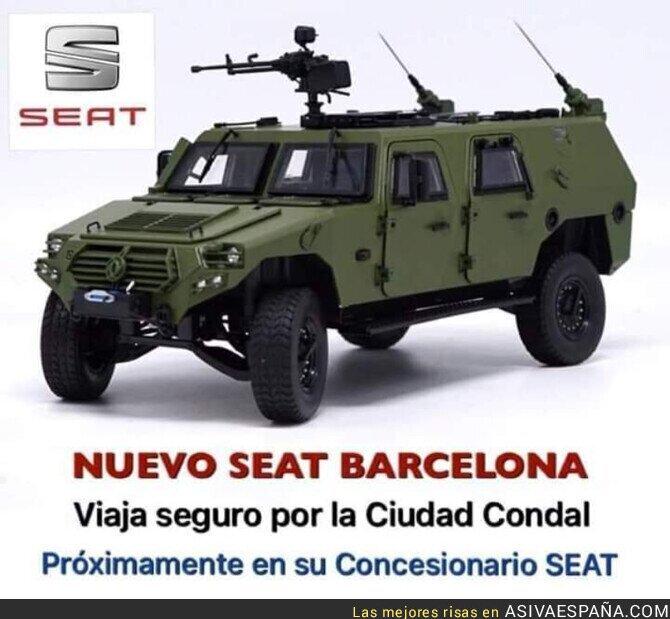 124342 - El nuevo modelo de coches de moda en Barcelona