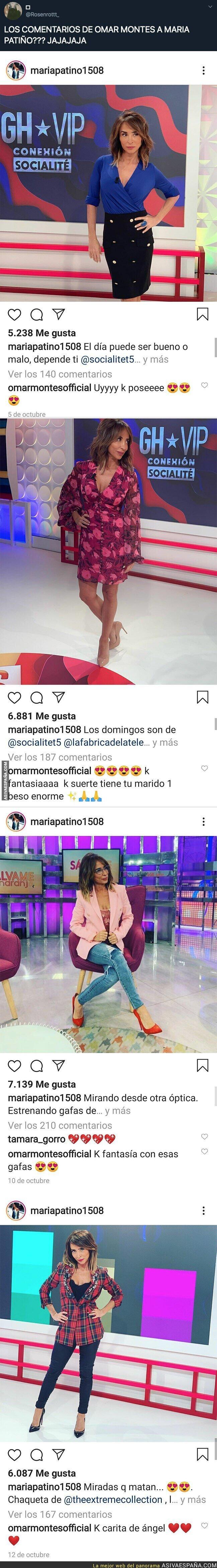 126022 - Omar Montes se está intentando camelar a María Patiño en todas las fotos que sube en Instagram