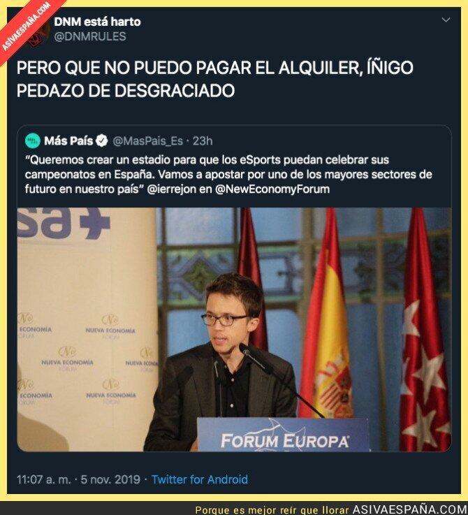 126266 - Íñigo Errejón no se ha enterado de los problemas de la gente