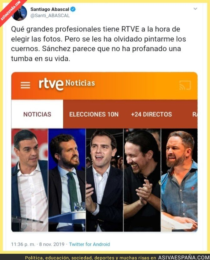 126620 - Definitivamente, el periodismo tradicional ha desconectado con la España real