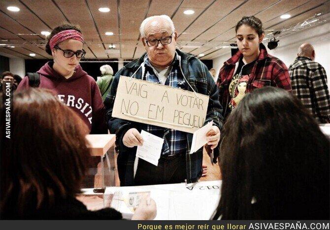 126633 - La gente en Catalunya ya va con miedo a las urnas
