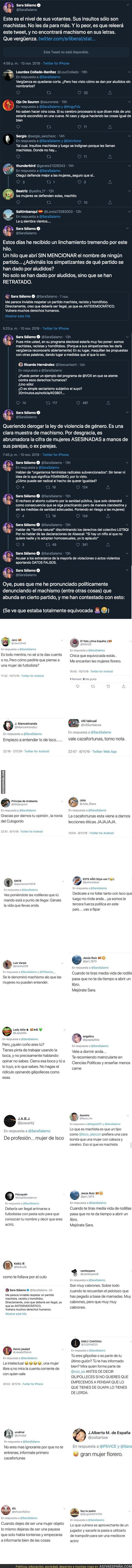 126734 - Los tremendos insultos que está recibiendo Sara Sálamo, novia de Isco, tras criticar a VOX en la jornada electoral