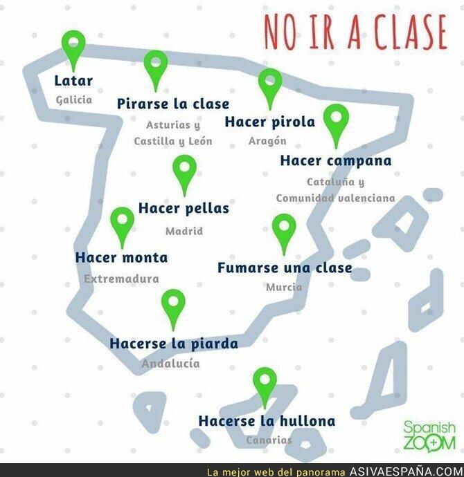 127136 - No ir a clase en diferentes partes de España
