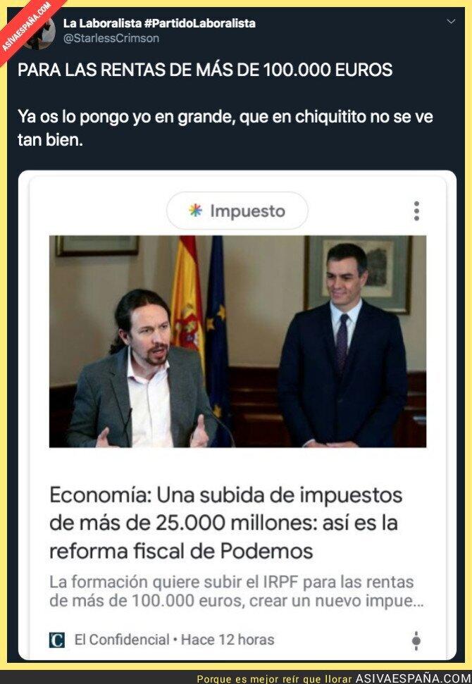 127324 - Y habrá obreros que ganan 1000 euros indignados con Podemos