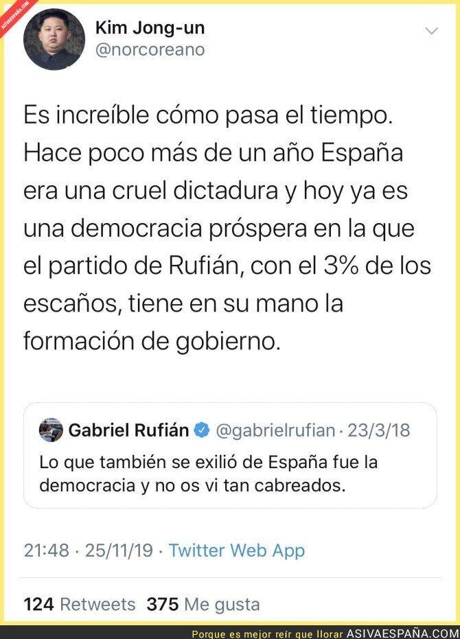 128312 - La dictadura española según Rufián