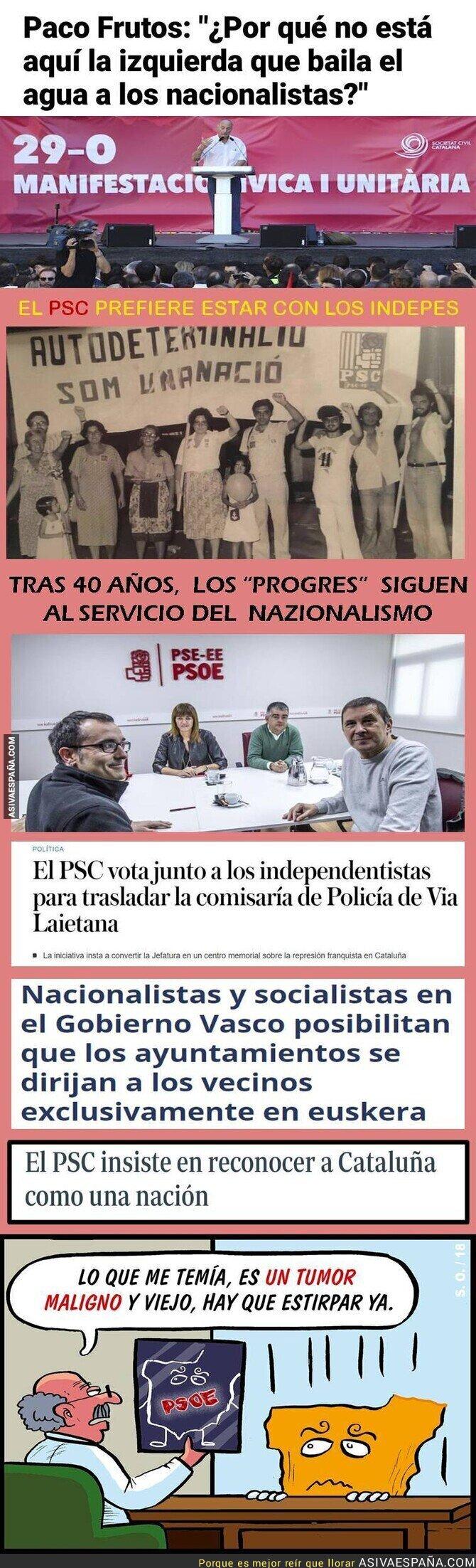 128383 - PSOE: 50 años peloteando a los nacionalistas
