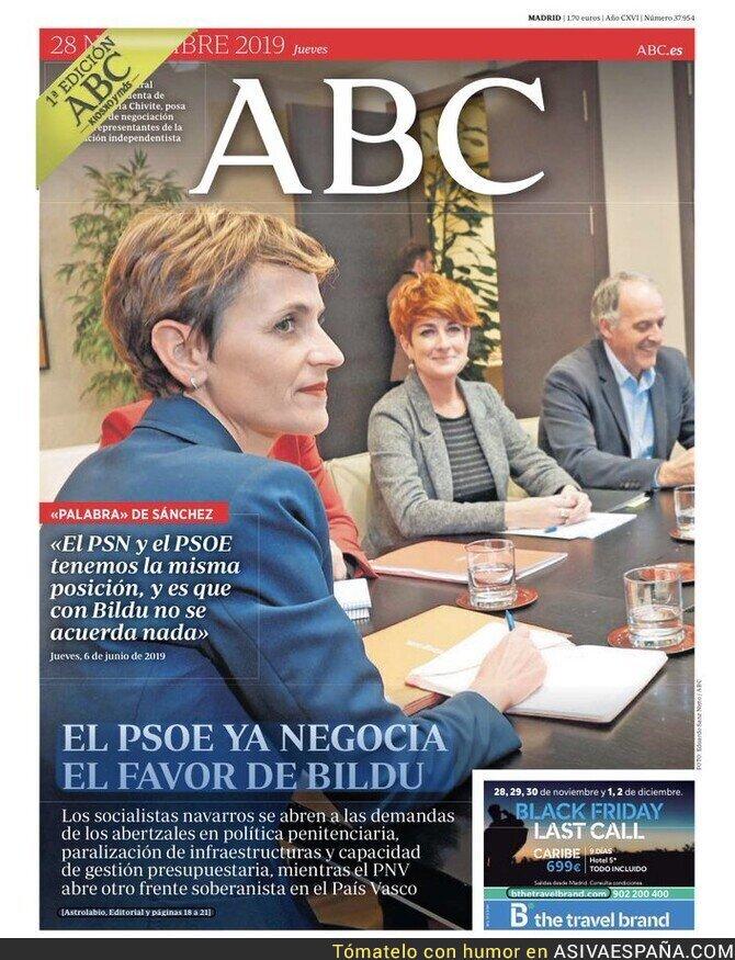 128471 - El PSOE negocia con Bildu