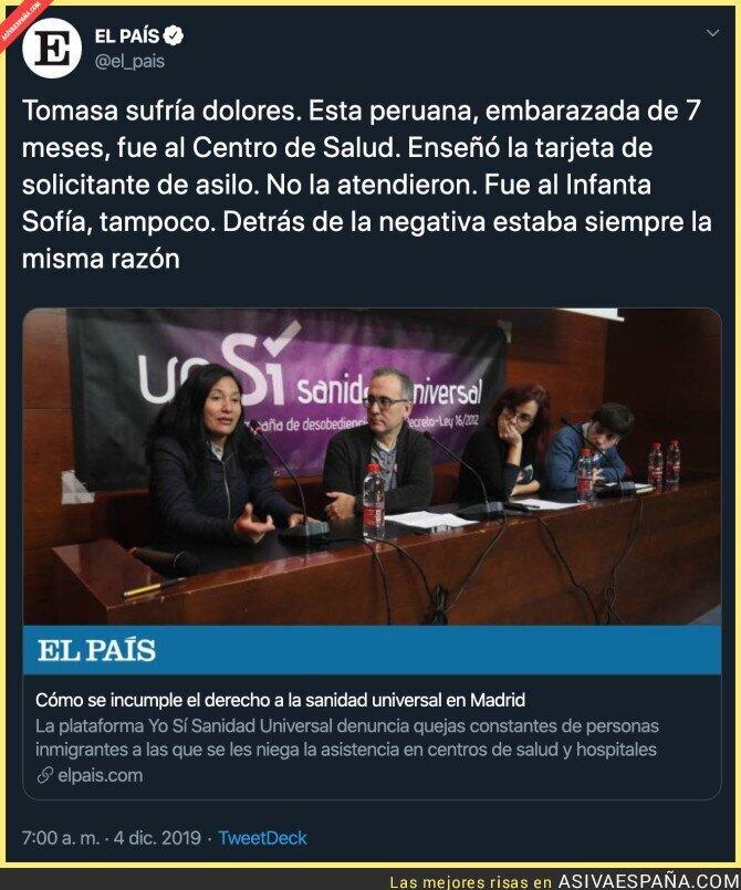 128857 - Tremenda la situación de la Sanidad en Madrid