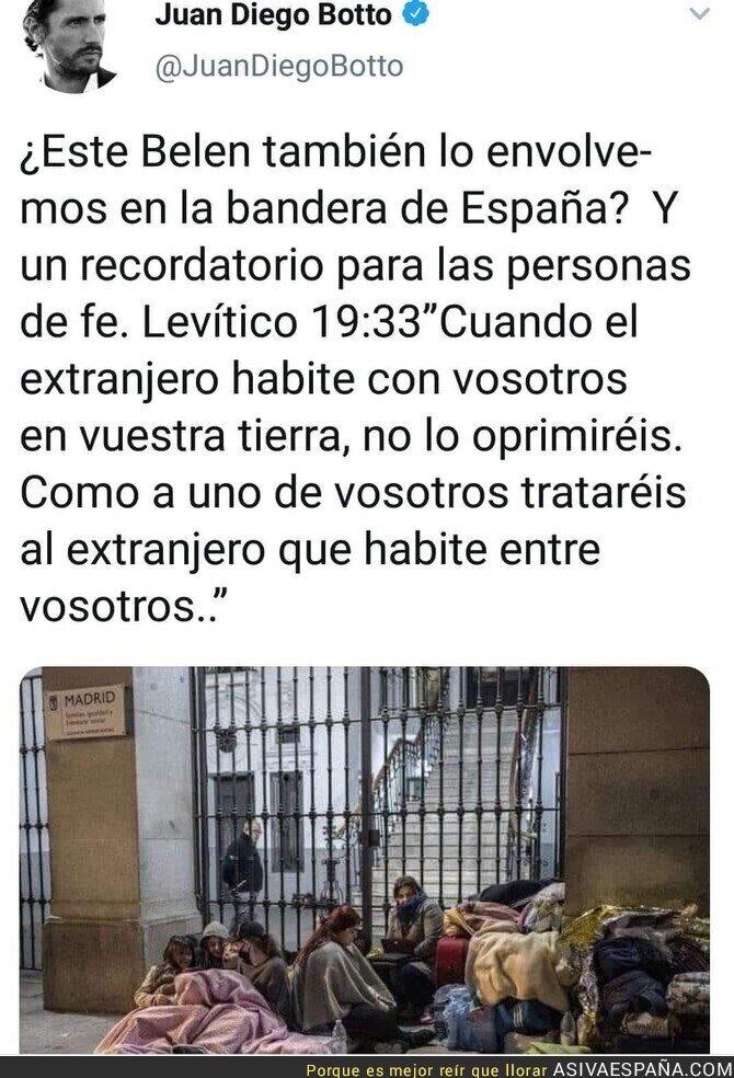 128889 - El triste Belén que tenemos en las calles españolas