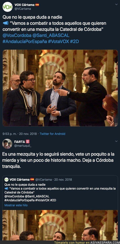 129402 - VOX no quiere mezquitas en Córdoba