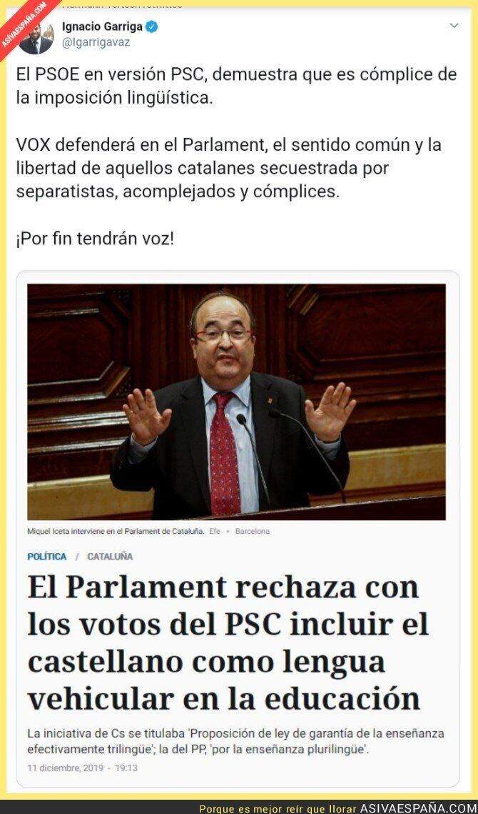 129506 - Las mentiras del PSC-PSOE