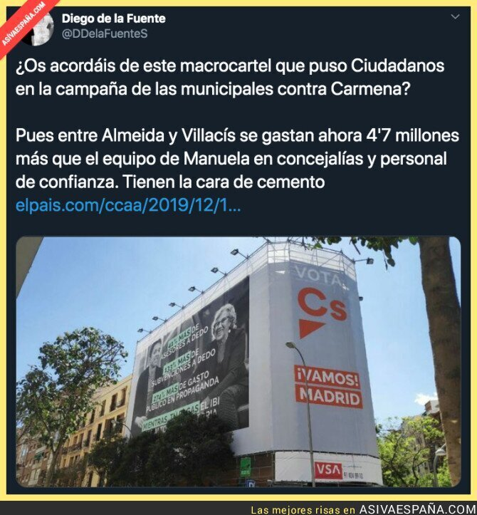 129647 - El desmesurado gasto de PP y Cs en Madrid